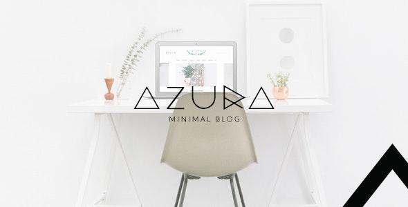 Azura - Clean & Minimal Blog WordPress - Blog / Magazine WordPress