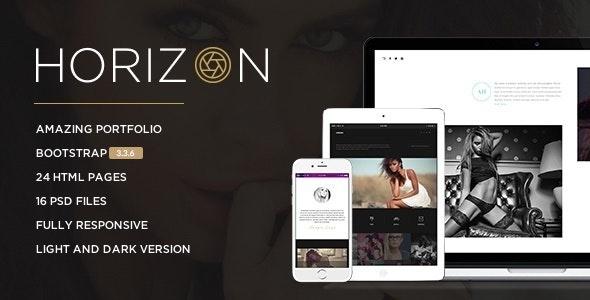 Horizon - Creative Photography Template - Photography Creative