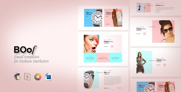 Boof - Fashion - Email Templates - Newsletters Email Templates