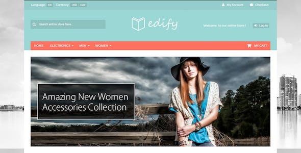 Edify - Responsive osCommerce Theme