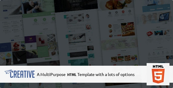 Creative - Multipurpose HTML Business Theme - Creative Site Templates