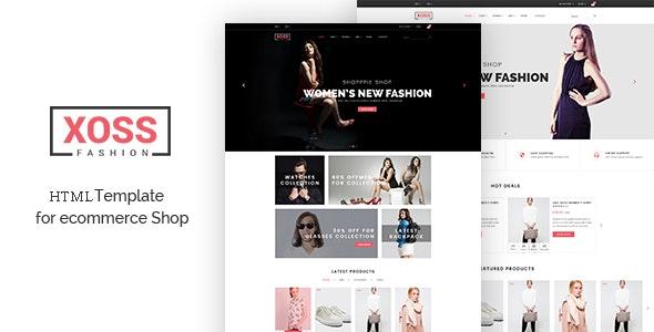 Xoos - Fashion HTML Template - Fashion Retail