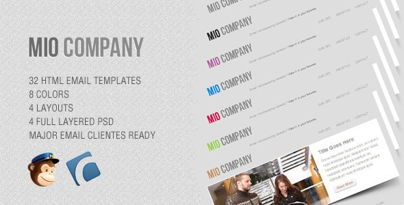 Mio - Corporate Email Template - Email Templates Marketing