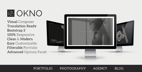 Okno - Creative Multipurpose WordPress Theme - Portfolio Creative