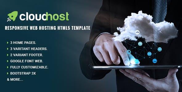 Cloud Host - Responsive Web Hosting HTML Template