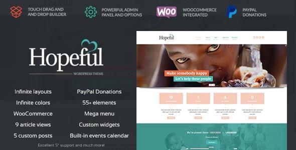 Hopeful - Church/Non-Profit WordPress Theme - Nonprofit WordPress
