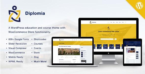 Diplomia WordPress Theme | Education WP - Education WordPress