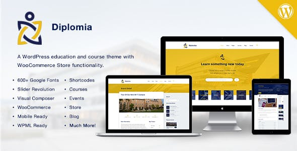 Diplomia WordPress Theme | Education WP