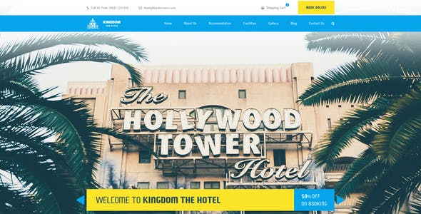 Kingdom - PSD Template for Hotels