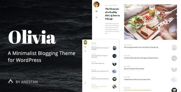Olivia - Responsive WordPress Blog Theme - Personal Blog / Magazine
