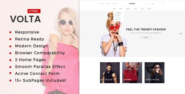 Volta : Minimal Shopping HTML5 Template