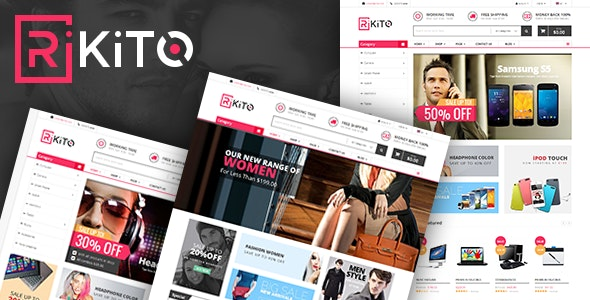 Vina Rikito - Responsive VirtueMart Joomla Template - VirtueMart Joomla