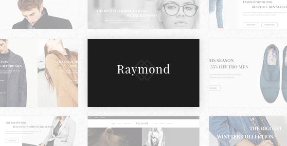 Raymond  - Fashion Shop HTML Template - Fashion Retail