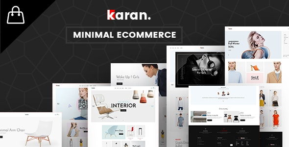 Karan - Fashion & Furniture eCommerce HTML Template - Shopping Retail