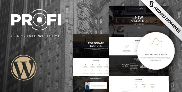 Profi – Business, Professional WordPress Theme - Business Corporate