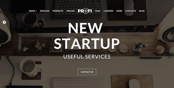Profi - Multipurpose Corporate HTML Template