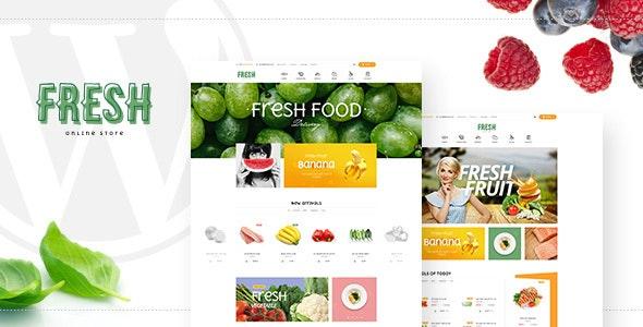 Fresh - Food and Restaurant WooCommerce WordPress Theme - WooCommerce eCommerce