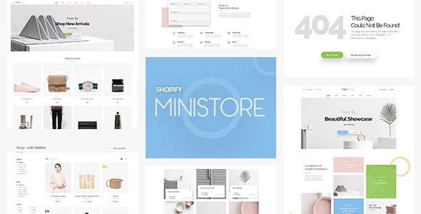 Ministore Multiple Shopify Theme - Fashion Shopify