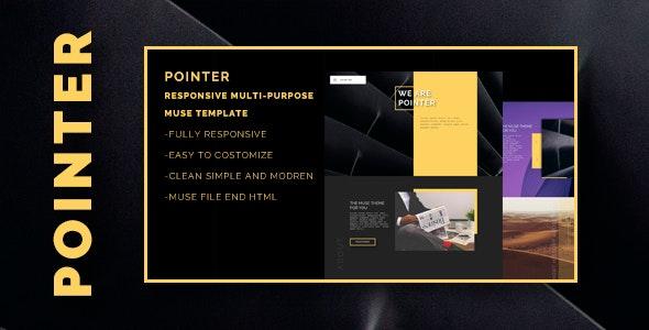 POINTER -Responsive Multi-Purpose  Muse template  - Creative Muse Templates