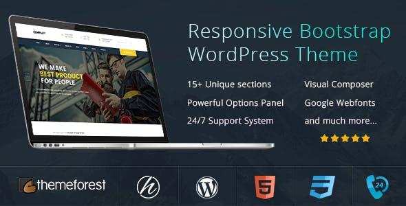 The Company - Business Company WordPress Theme
