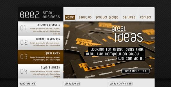 BEEZ - smart business website template - Business Corporate
