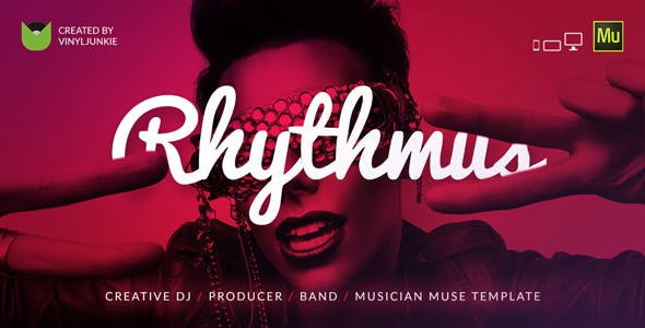 Rhythmus - Creative DJ / Producer / Musician Site Muse Template