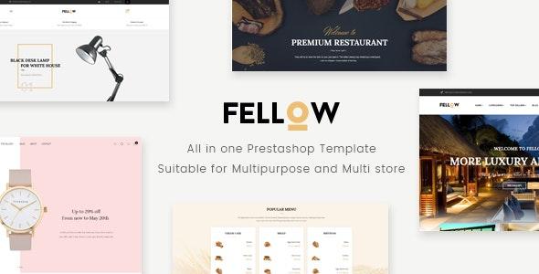 Leo Fellow Responsive Prestashop Theme - PrestaShop eCommerce