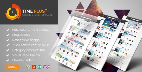 TimePlus - Mega Store Responsive WooCommerce Theme - WooCommerce eCommerce