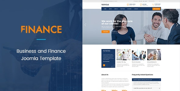 ZT Finance Responsive Business Corporate Joomla Template - Business Corporate