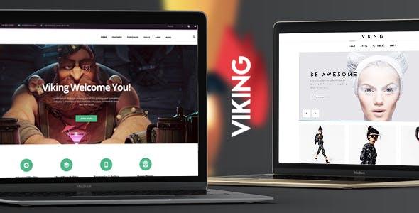 Viking   Responsive Multi-Purpose Theme