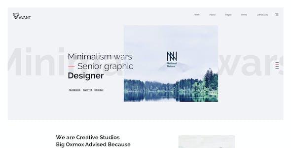 Avant - Creative & Multipurpose