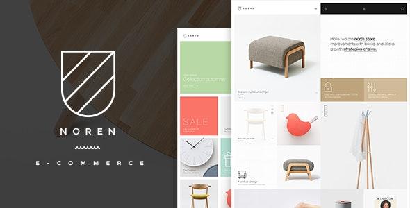 Noren- Shop WordPress WooCommerce Theme - WooCommerce eCommerce