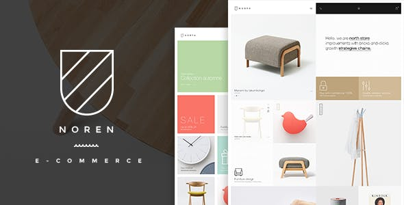 Noren- Shop WordPress WooCommerce Theme