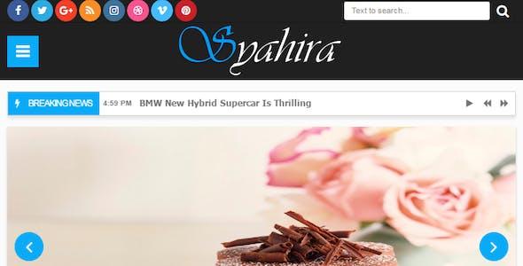 Syahira - Responsive Blogger Template