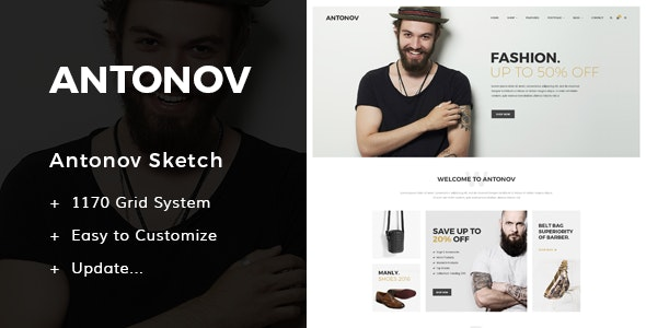 Antonov - Fashion Sketch Template  - Sketch Templates