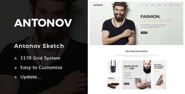 Antonov - Fashion Sketch Template