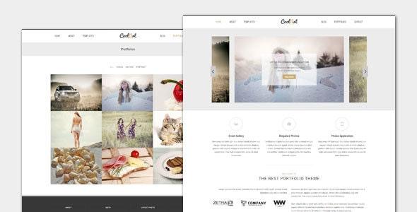 Coolart - Portfolio and Photography WordPress Theme - Photography Creative
