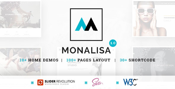 Monalisa - Business HTML Template - Business Corporate