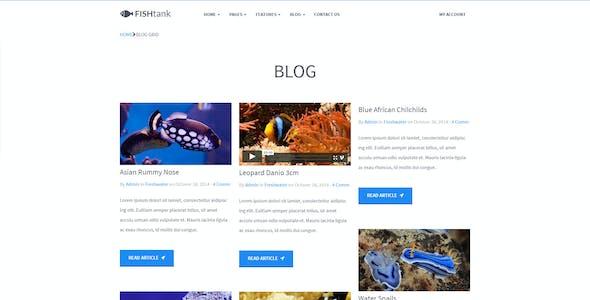 FishTank - Creative Shop HTML Template