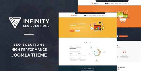 Infinity - High Performance Jomla SEO Theme - Marketing Corporate