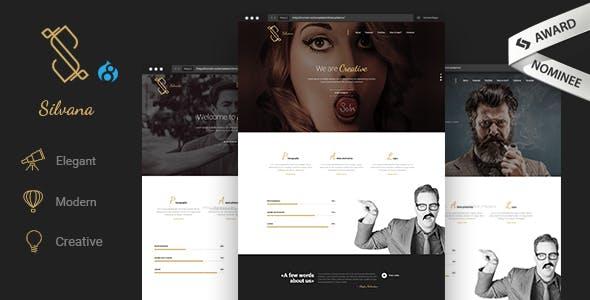 Silvana - Creative Agency Drupal 8.8 Theme