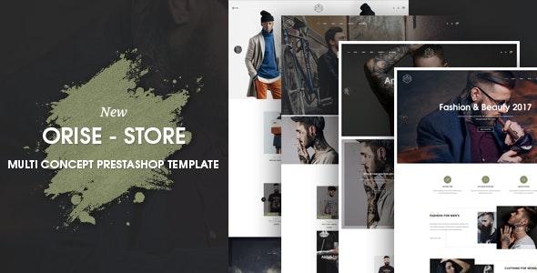 Orise Responsive Prestashop Theme - Fashion PrestaShop