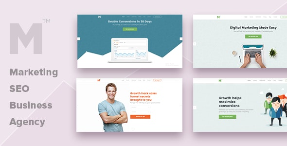 Marketing - Multipurpose Business, SEO, Agency Template - Marketing Corporate