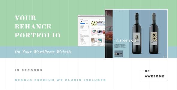 BeAwesome - Creative Behance Portfolio WP Theme - Portfolio Creative