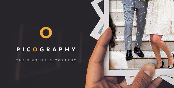 Download Picography - The Ultimate Picture Biography Muse Template