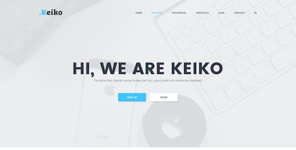 Keiko - Multipurpose Business PSD Template
