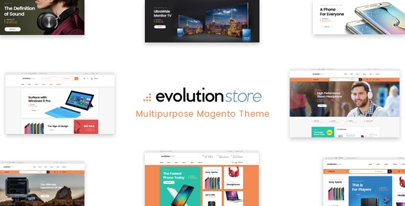 M2themes Evolution Magento 2 Template - Shopping Magento
