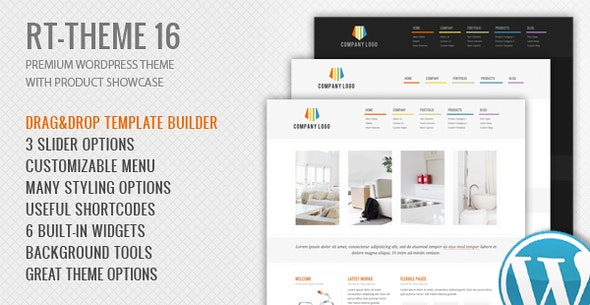 Rt Theme 16 Corporate Wordpress Theme By Stmcan Themeforest