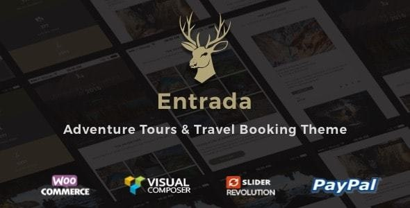 Entrada - Tour Booking WordPress Theme - Travel Retail