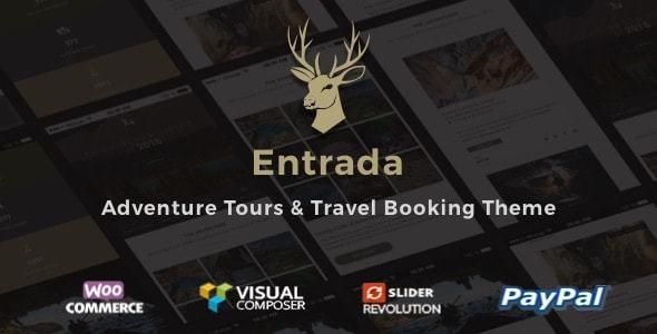 Tour Booking - Tour Adventure WordPress Theme - Entrada - Travel Retail
